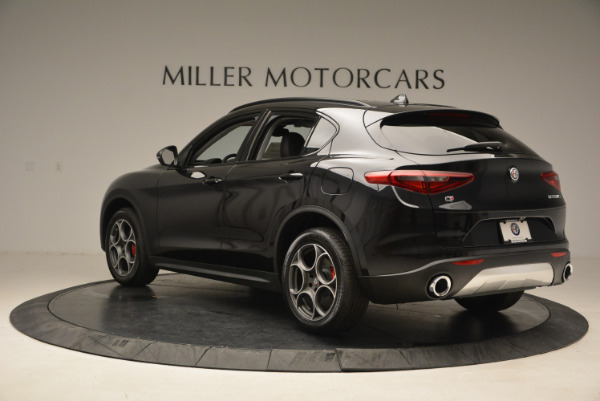New 2018 Alfa Romeo Stelvio Sport Q4 for sale Sold at Alfa Romeo of Greenwich in Greenwich CT 06830 5