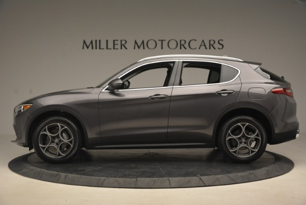 New 2018 Alfa Romeo Stelvio Sport Q4 for sale Sold at Alfa Romeo of Greenwich in Greenwich CT 06830 3