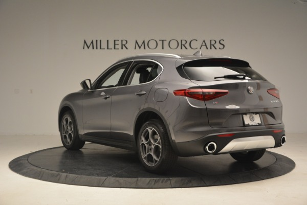 New 2018 Alfa Romeo Stelvio Sport Q4 for sale Sold at Alfa Romeo of Greenwich in Greenwich CT 06830 5