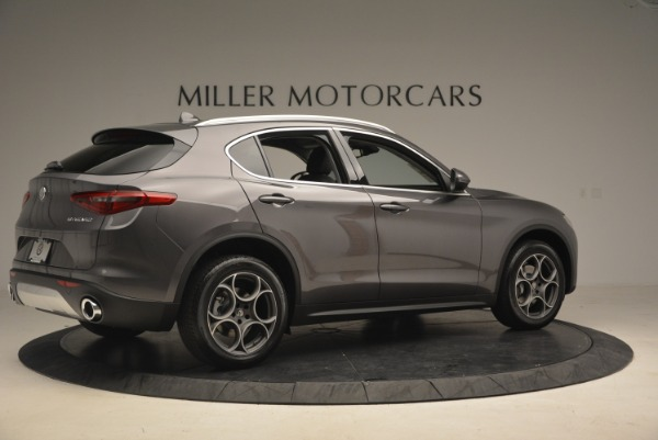 New 2018 Alfa Romeo Stelvio Sport Q4 for sale Sold at Alfa Romeo of Greenwich in Greenwich CT 06830 8