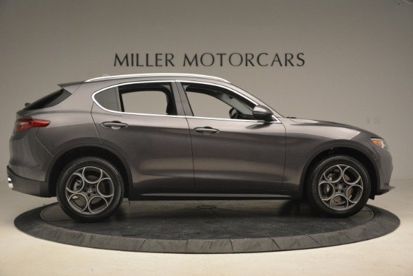 New 2018 Alfa Romeo Stelvio Sport Q4 for sale Sold at Alfa Romeo of Greenwich in Greenwich CT 06830 9