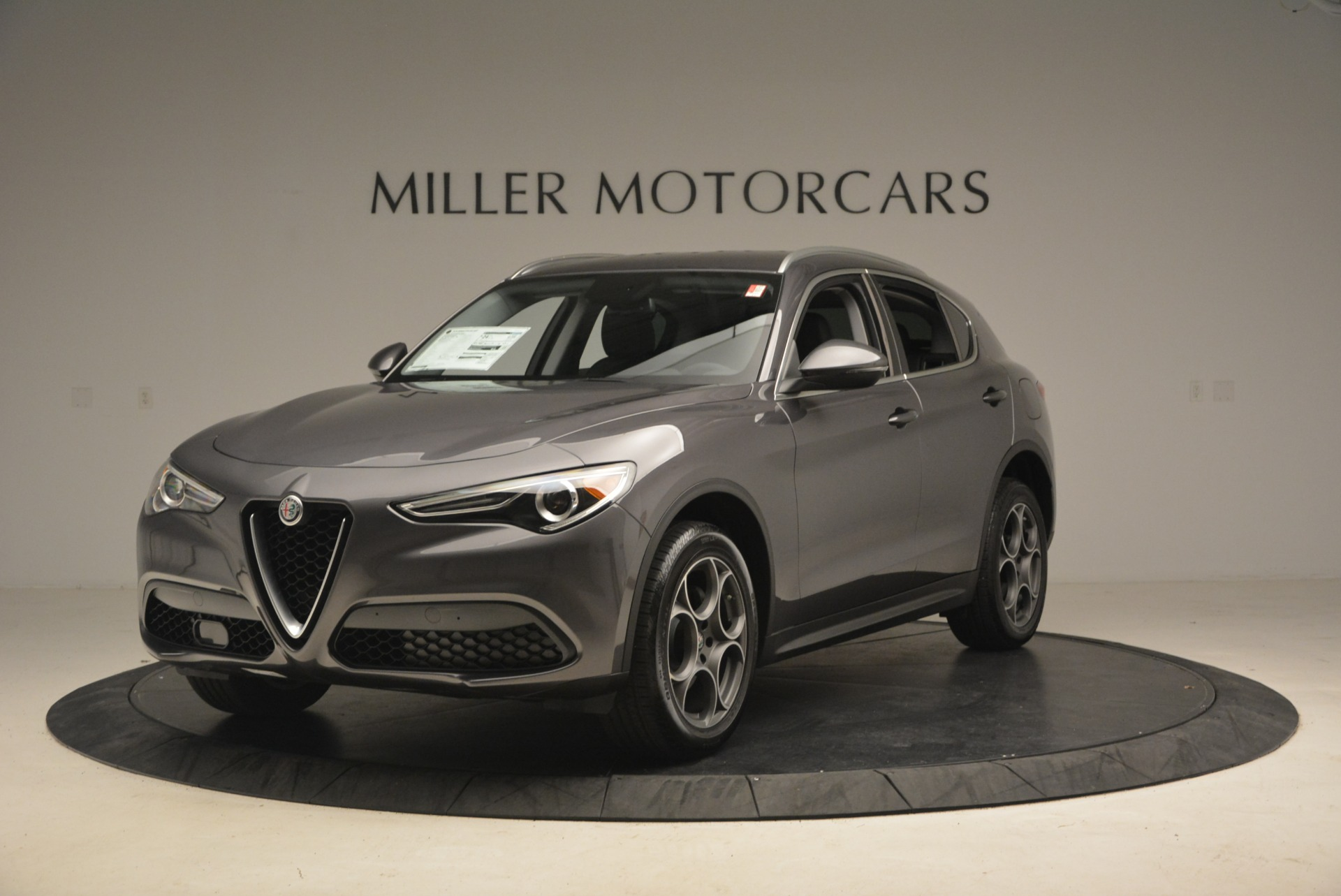 New 2018 Alfa Romeo Stelvio Sport Q4 for sale Sold at Alfa Romeo of Greenwich in Greenwich CT 06830 1