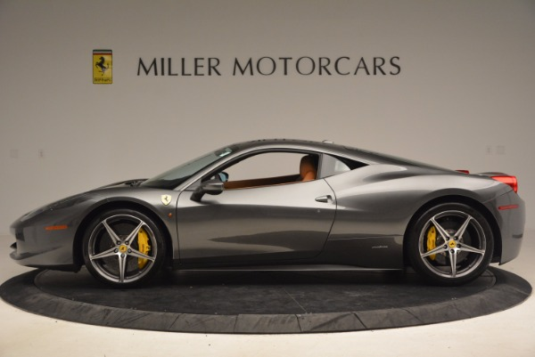 Used 2011 Ferrari 458 Italia for sale Sold at Alfa Romeo of Greenwich in Greenwich CT 06830 3