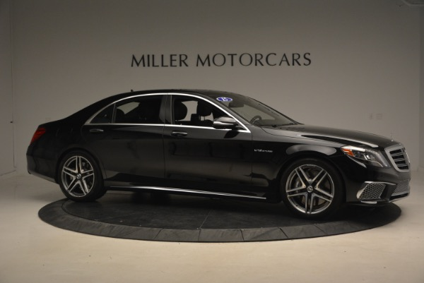 Used 2015 Mercedes-Benz S-Class S 65 AMG for sale Sold at Alfa Romeo of Greenwich in Greenwich CT 06830 10