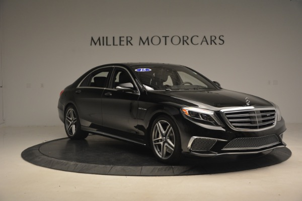 Used 2015 Mercedes-Benz S-Class S 65 AMG for sale Sold at Alfa Romeo of Greenwich in Greenwich CT 06830 11