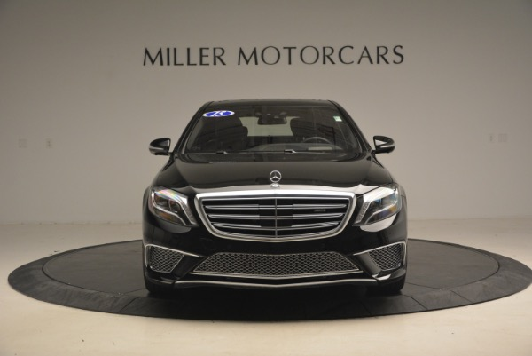 Used 2015 Mercedes-Benz S-Class S 65 AMG for sale Sold at Alfa Romeo of Greenwich in Greenwich CT 06830 12
