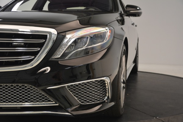 Used 2015 Mercedes-Benz S-Class S 65 AMG for sale Sold at Alfa Romeo of Greenwich in Greenwich CT 06830 16