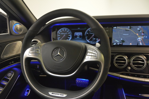 Used 2015 Mercedes-Benz S-Class S 65 AMG for sale Sold at Alfa Romeo of Greenwich in Greenwich CT 06830 24