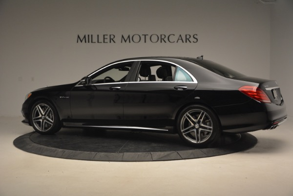 Used 2015 Mercedes-Benz S-Class S 65 AMG for sale Sold at Alfa Romeo of Greenwich in Greenwich CT 06830 4