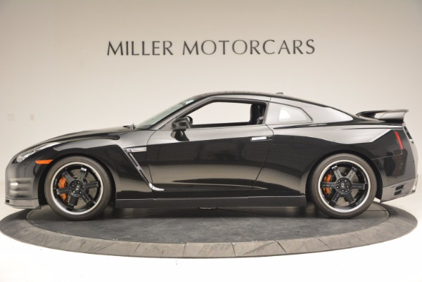 Used 2014 Nissan GT-R Track Edition for sale Sold at Alfa Romeo of Greenwich in Greenwich CT 06830 3