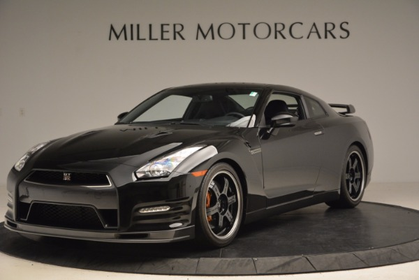 Used 2014 Nissan GT-R Track Edition for sale Sold at Alfa Romeo of Greenwich in Greenwich CT 06830 1