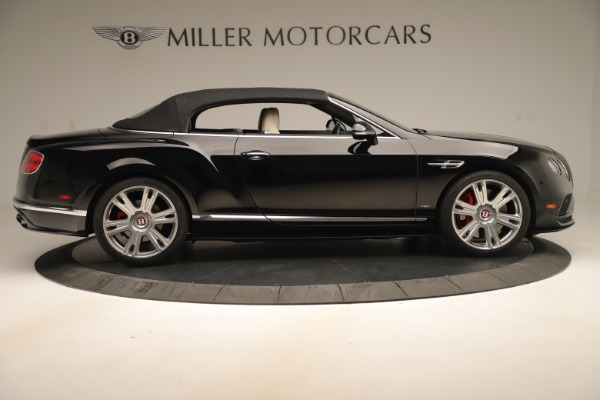 Used 2016 Bentley Continental GTC V8 S for sale $142,900 at Alfa Romeo of Greenwich in Greenwich CT 06830 18