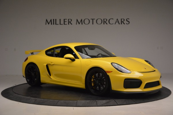 Used 2016 Porsche Cayman GT4 for sale Sold at Alfa Romeo of Greenwich in Greenwich CT 06830 10