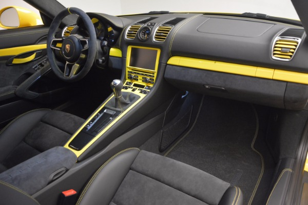 Used 2016 Porsche Cayman GT4 for sale Sold at Alfa Romeo of Greenwich in Greenwich CT 06830 17