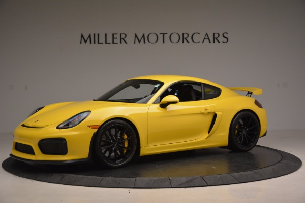 Used 2016 Porsche Cayman GT4 for sale Sold at Alfa Romeo of Greenwich in Greenwich CT 06830 2