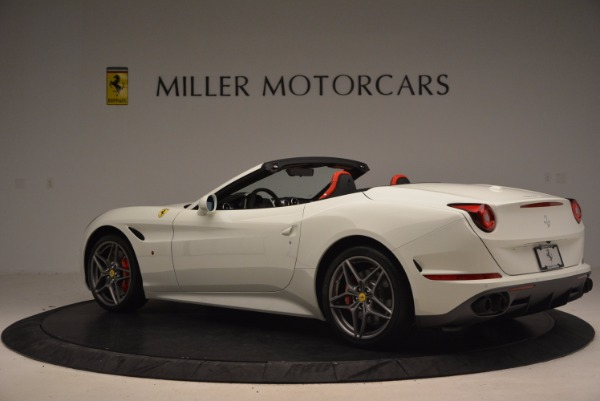 Used 2017 Ferrari California T for sale Sold at Alfa Romeo of Greenwich in Greenwich CT 06830 4