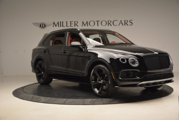 New 2018 Bentley Bentayga Black Edition for sale Sold at Alfa Romeo of Greenwich in Greenwich CT 06830 11