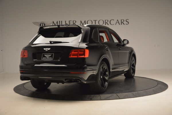 New 2018 Bentley Bentayga Black Edition for sale Sold at Alfa Romeo of Greenwich in Greenwich CT 06830 8