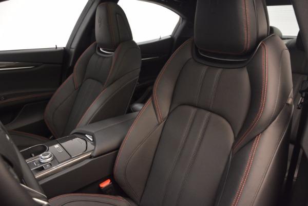 New 2017 Maserati Ghibli Nerissimo Edition S Q4 for sale Sold at Alfa Romeo of Greenwich in Greenwich CT 06830 16