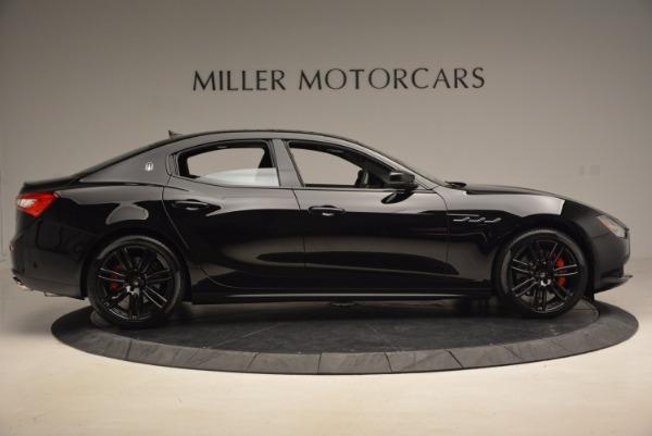 New 2017 Maserati Ghibli Nerissimo Edition S Q4 for sale Sold at Alfa Romeo of Greenwich in Greenwich CT 06830 9