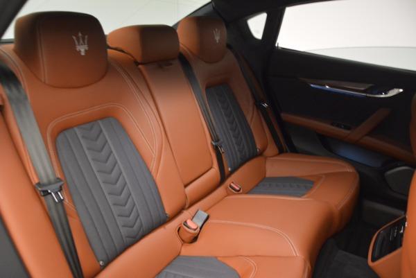 New 2017 Maserati Quattroporte S Q4 GranLusso for sale Sold at Alfa Romeo of Greenwich in Greenwich CT 06830 23
