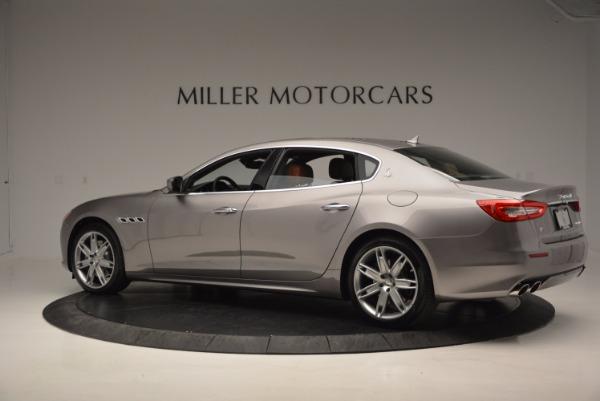 New 2017 Maserati Quattroporte S Q4 GranLusso for sale Sold at Alfa Romeo of Greenwich in Greenwich CT 06830 4