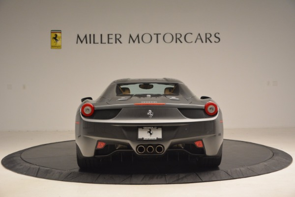 Used 2015 Ferrari 458 Spider for sale Sold at Alfa Romeo of Greenwich in Greenwich CT 06830 18