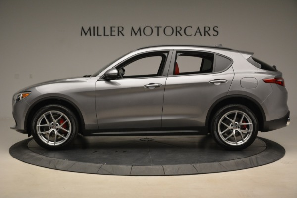 New 2018 Alfa Romeo Stelvio Ti Sport Q4 for sale Sold at Alfa Romeo of Greenwich in Greenwich CT 06830 3