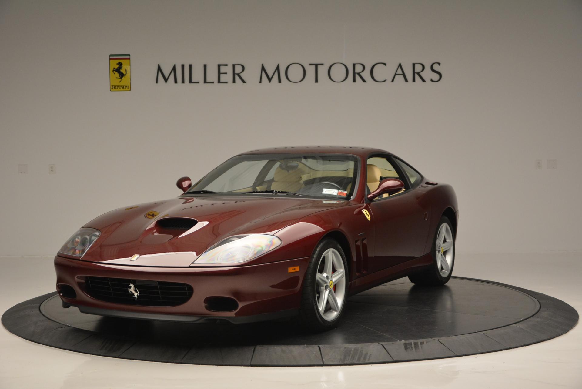 Used 2003 Ferrari 575M Maranello 6-Speed Manual for sale Sold at Alfa Romeo of Greenwich in Greenwich CT 06830 1