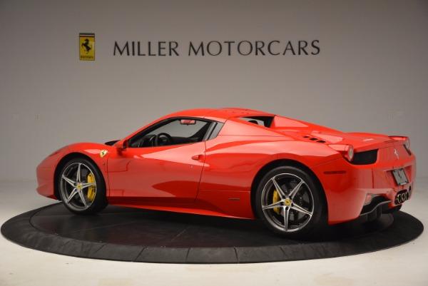 Used 2014 Ferrari 458 Spider for sale Sold at Alfa Romeo of Greenwich in Greenwich CT 06830 16