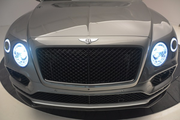 New 2018 Bentley Bentayga Black Edition for sale Sold at Alfa Romeo of Greenwich in Greenwich CT 06830 16