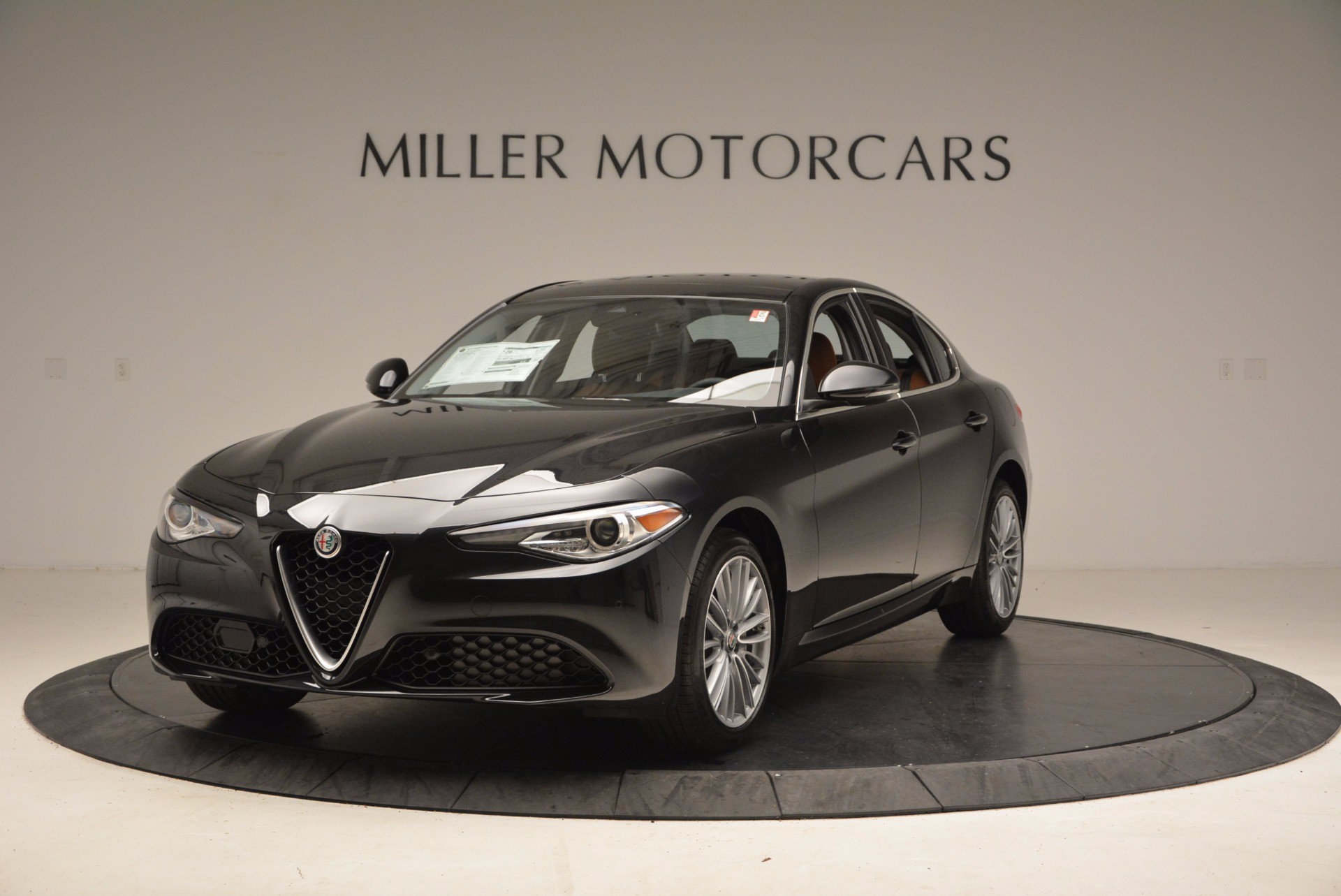 New 2017 Alfa Romeo Giulia Ti Lusso Q4 for sale Sold at Alfa Romeo of Greenwich in Greenwich CT 06830 1