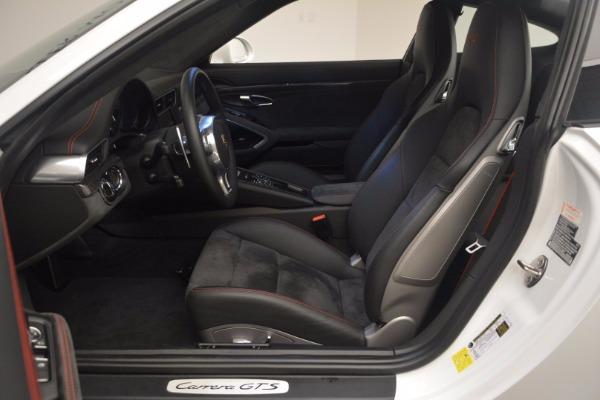 Used 2015 Porsche 911 Carrera GTS for sale Sold at Alfa Romeo of Greenwich in Greenwich CT 06830 16