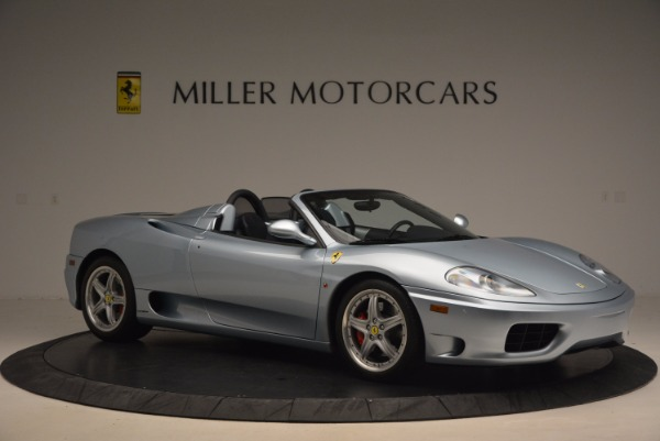 Used 2003 Ferrari 360 Spider 6-Speed Manual for sale Sold at Alfa Romeo of Greenwich in Greenwich CT 06830 10