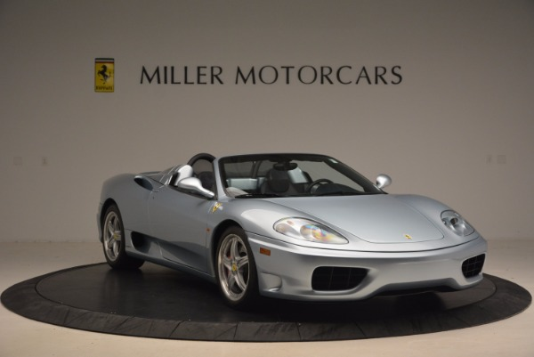 Used 2003 Ferrari 360 Spider 6-Speed Manual for sale Sold at Alfa Romeo of Greenwich in Greenwich CT 06830 11