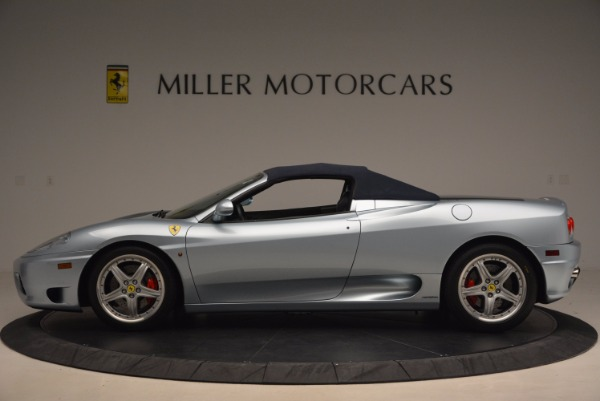 Used 2003 Ferrari 360 Spider 6-Speed Manual for sale Sold at Alfa Romeo of Greenwich in Greenwich CT 06830 15