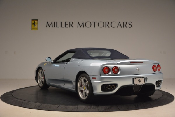 Used 2003 Ferrari 360 Spider 6-Speed Manual for sale Sold at Alfa Romeo of Greenwich in Greenwich CT 06830 17