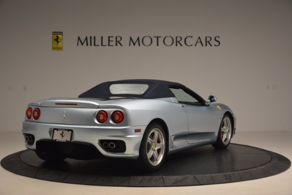 Used 2003 Ferrari 360 Spider 6-Speed Manual for sale Sold at Alfa Romeo of Greenwich in Greenwich CT 06830 19