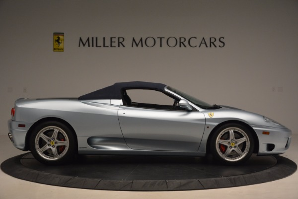 Used 2003 Ferrari 360 Spider 6-Speed Manual for sale Sold at Alfa Romeo of Greenwich in Greenwich CT 06830 21
