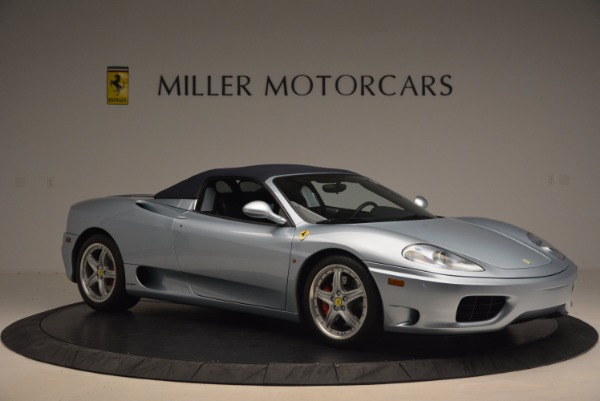 Used 2003 Ferrari 360 Spider 6-Speed Manual for sale Sold at Alfa Romeo of Greenwich in Greenwich CT 06830 22