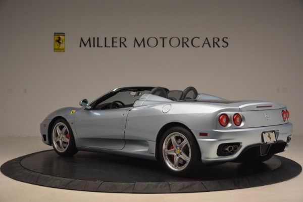 Used 2003 Ferrari 360 Spider 6-Speed Manual for sale Sold at Alfa Romeo of Greenwich in Greenwich CT 06830 4