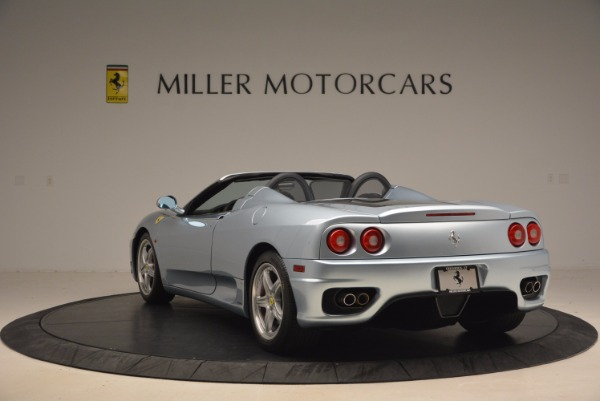 Used 2003 Ferrari 360 Spider 6-Speed Manual for sale Sold at Alfa Romeo of Greenwich in Greenwich CT 06830 5