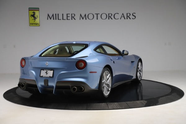 Used 2015 Ferrari F12 Berlinetta for sale Sold at Alfa Romeo of Greenwich in Greenwich CT 06830 7