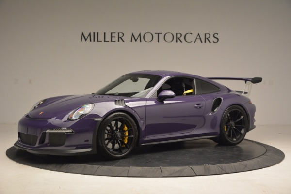 Used 2016 Porsche 911 GT3 RS for sale Sold at Alfa Romeo of Greenwich in Greenwich CT 06830 2