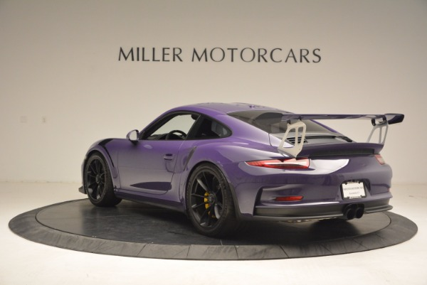 Used 2016 Porsche 911 GT3 RS for sale Sold at Alfa Romeo of Greenwich in Greenwich CT 06830 5