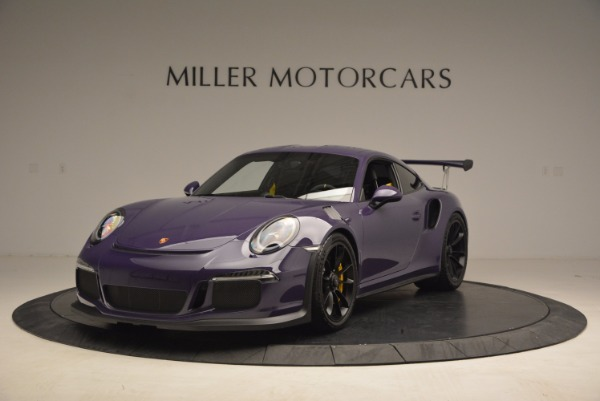 Used 2016 Porsche 911 GT3 RS for sale Sold at Alfa Romeo of Greenwich in Greenwich CT 06830 1