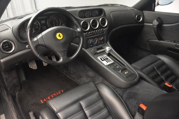 Used 1997 Ferrari 550 Maranello for sale Sold at Alfa Romeo of Greenwich in Greenwich CT 06830 13