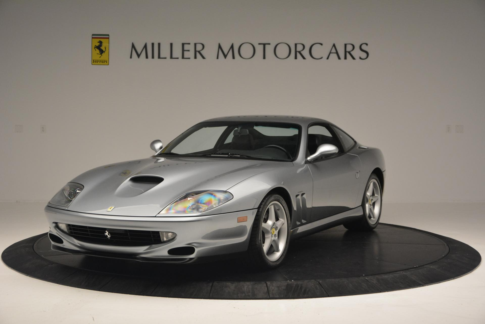 Used 1997 Ferrari 550 Maranello for sale Sold at Alfa Romeo of Greenwich in Greenwich CT 06830 1