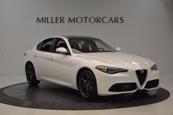 New 2017 Alfa Romeo Giulia Ti Q4 for sale Sold at Alfa Romeo of Greenwich in Greenwich CT 06830 11
