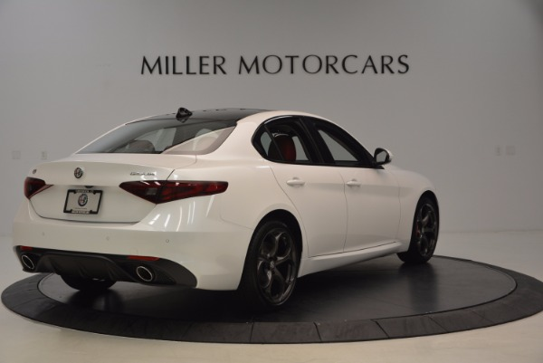 New 2017 Alfa Romeo Giulia Ti Q4 for sale Sold at Alfa Romeo of Greenwich in Greenwich CT 06830 7